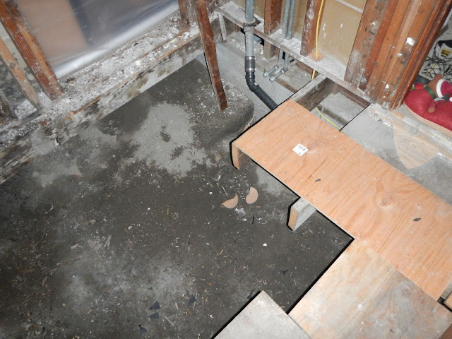 Crawl space rat slab this old folly for Insulating basement floor before pouring