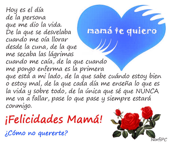 Un reconocimiento a Mamá en el Día de las Madres