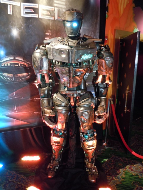 Real Steel Atom animatronic robot