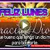 FELIZ LUNES - Ha iniciado otro día mas del año y quiero desearte millones de bendiciones