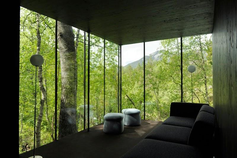 Cabaña Hotel Juvet Landscape