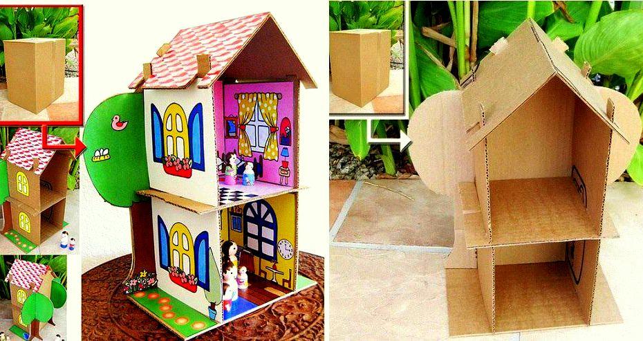 Как сделать куклы своими руками из картона