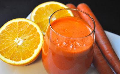 طريقة عمل عصير الجزر والبرتقال, عصير الجزر والبرتقال, عصيرالبرتقال, عصير الجزر