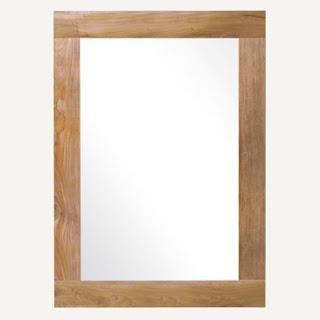 cermin kamar mandi minimalis rustic