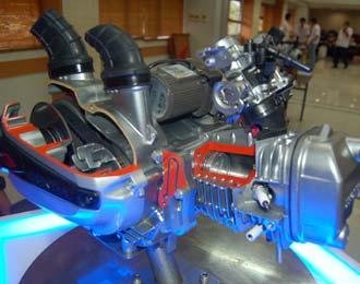 Bongkar Mesin Honda Revo Techno AT