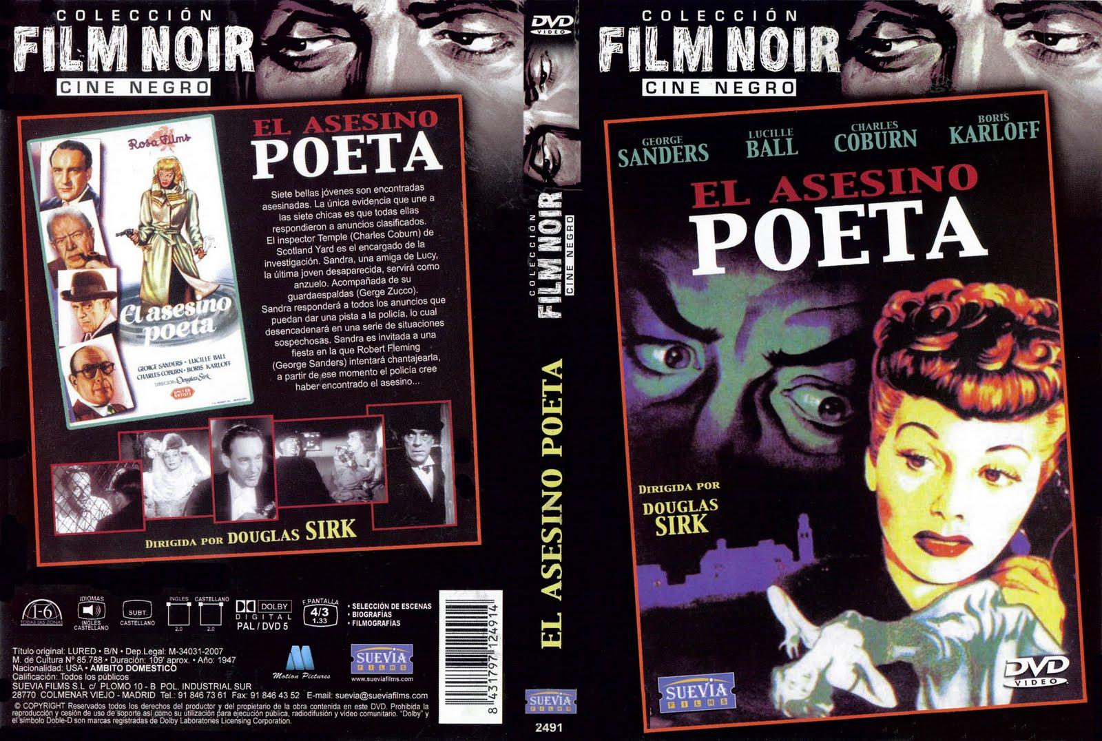 El asesino poeta, (1947 - Lured)