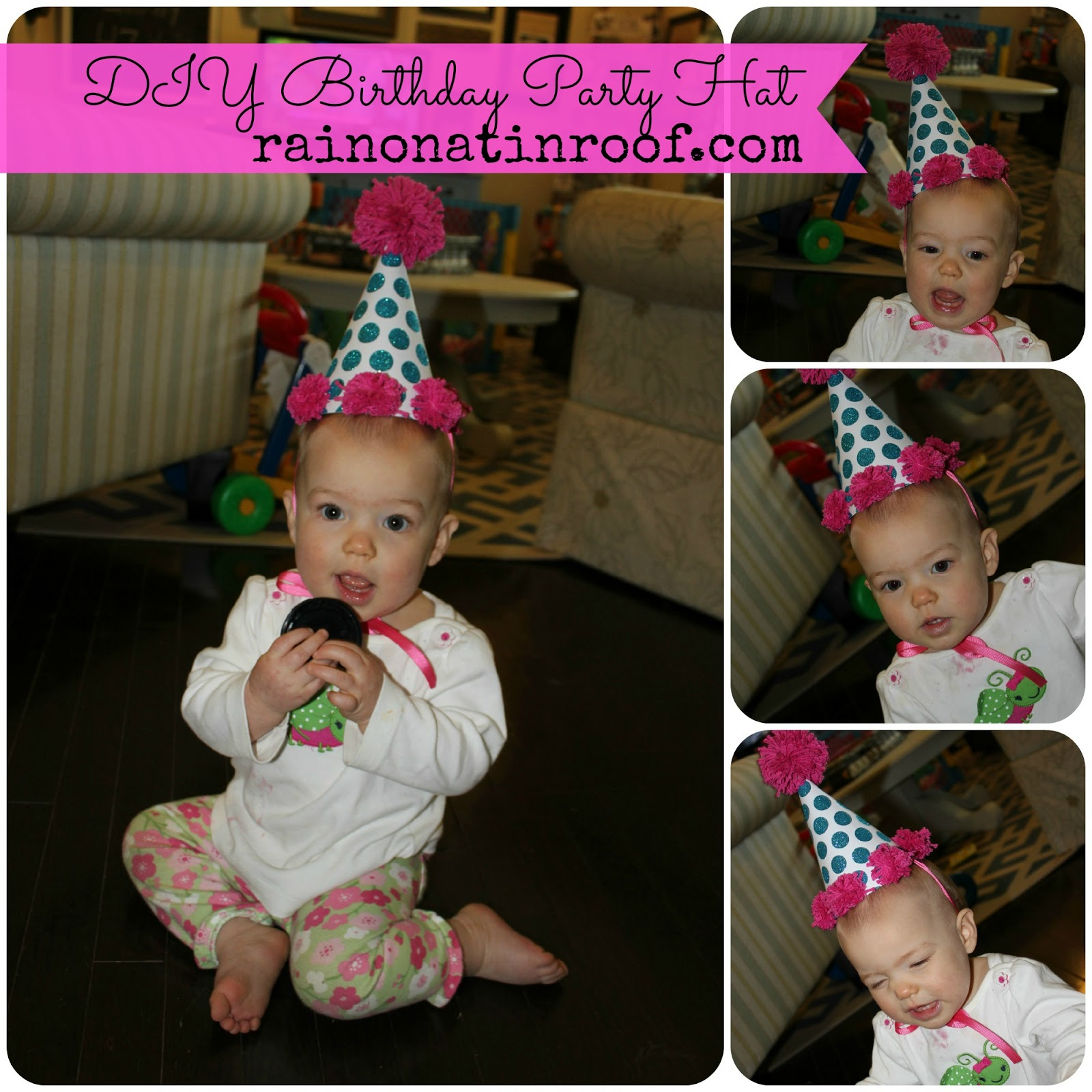 DIY Birthday Party Hat For Less Than $5 In 15 Minutes