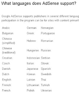 adsense support indonesia