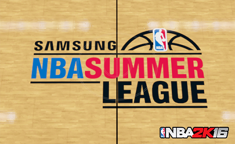 NBA 2K16 Summer League Announced