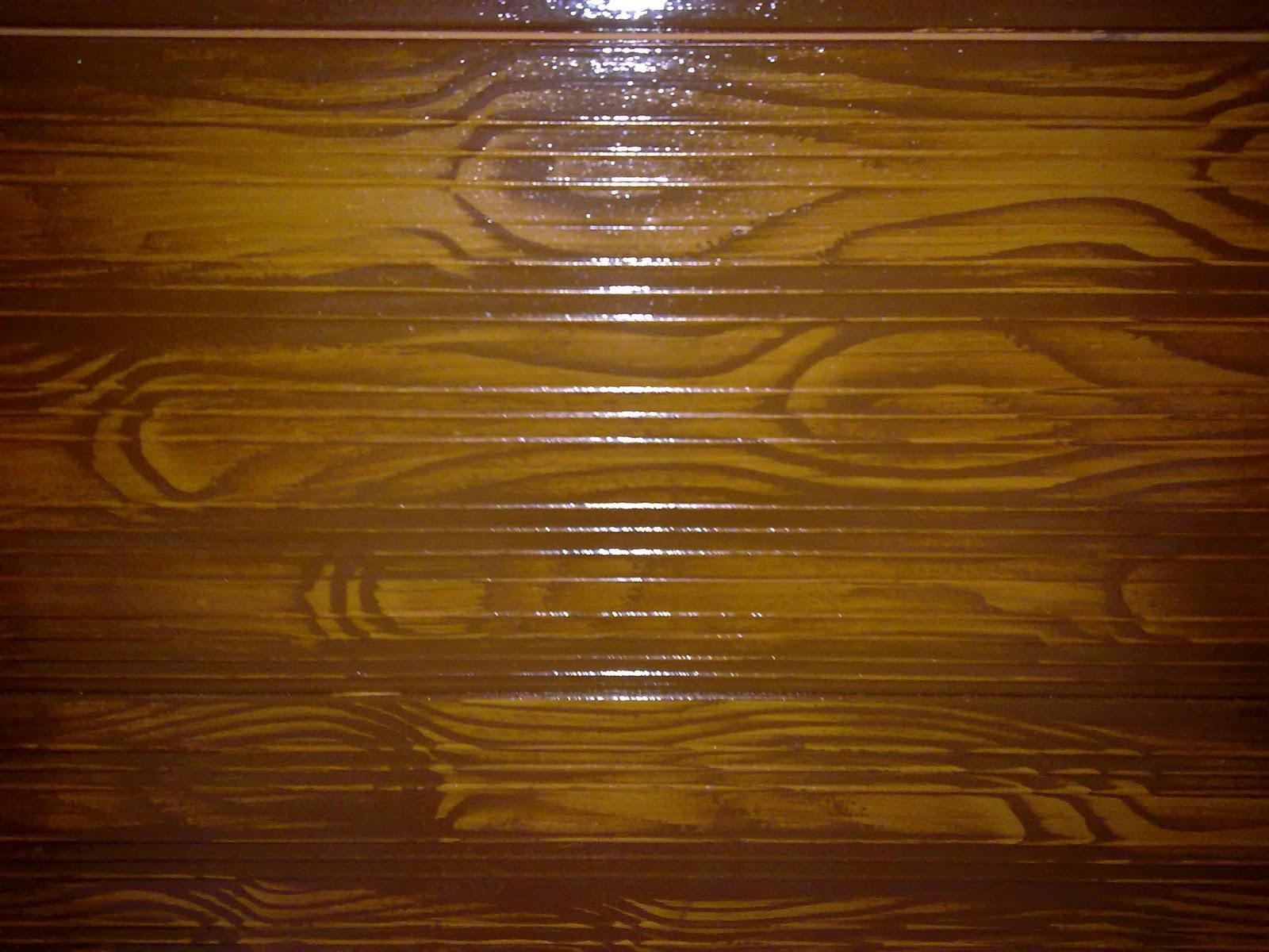 Pinturas lleni techo de bardos y vigas de hormig n en - Vigas de imitacion madera para techos ...