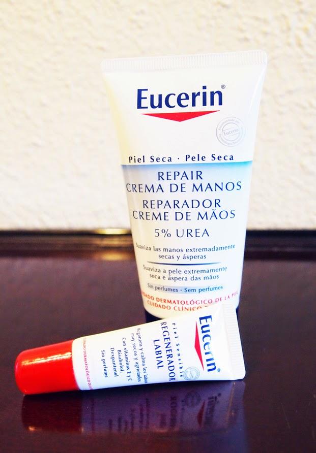 Eucerin Crema de Manos y Regenerador Labial