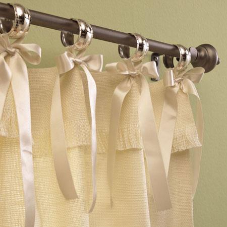 barra o un riel para cortina | inspiración de diseño de interiores
