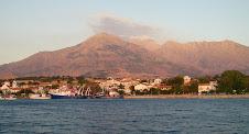 Le port de kamariotissa en Samothrace