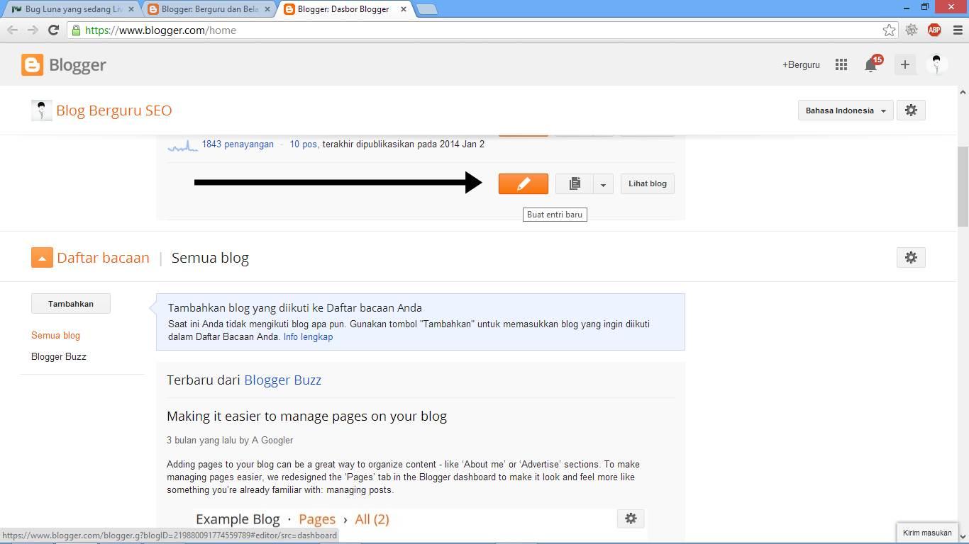 Buat Blog untuk Kerja Part Time Online Gambar 3