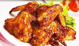 Resep Sayap Ayam Madu Spesial