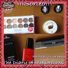 Sorteo 1er Cumpleblog The diary of my dreams