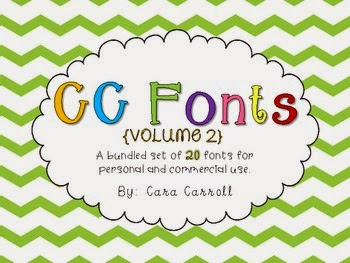 https://www.teacherspayteachers.com/Product/Font-Fun-Volume-2-581279
