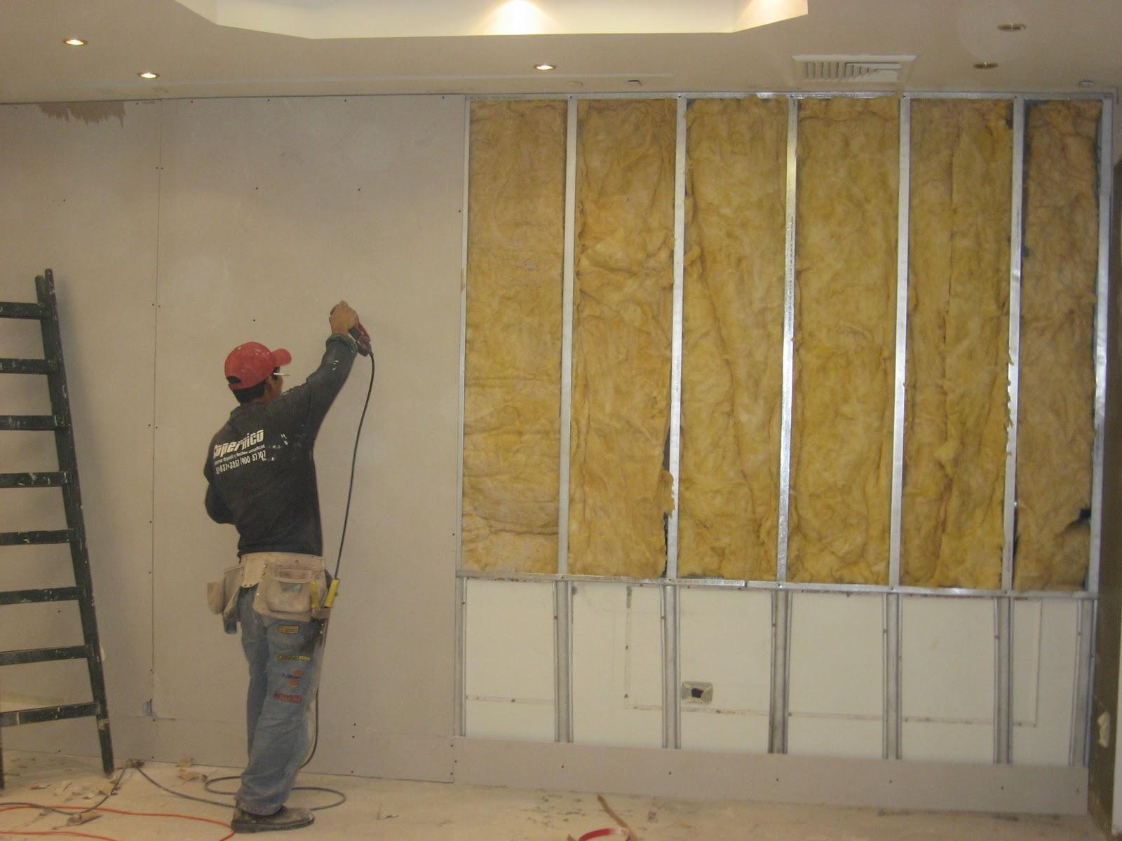 Quieres aprender a instalar l minas de drywall y ahorrar for Laminas para forrar paredes