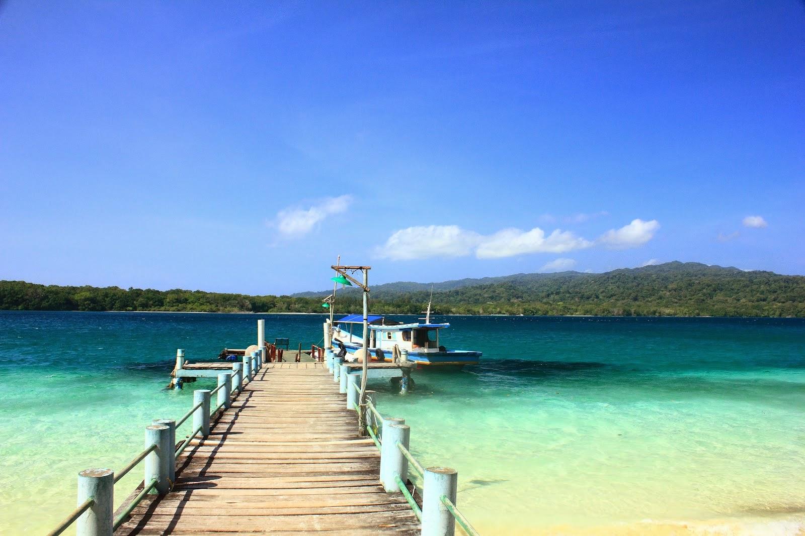 Ujung Kulon Pulau Peucang Dermaga Pulau Peucang Ujung