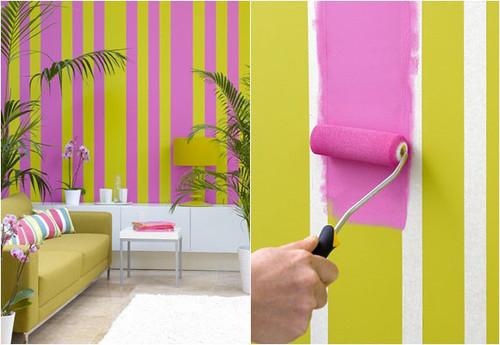 Como pintar as paredes gastando pouco decora o e ideias - Pintura lavable para paredes ...