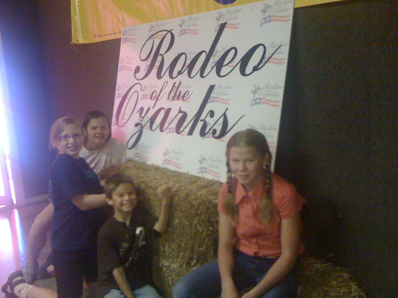 LEARNING TO DANCE IN THE RAIN: JULY 5, 2012 -- RODEO OF THE OZARKS