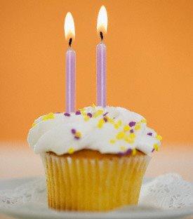 Torta de cumpleaños, cumpleaños, velitas