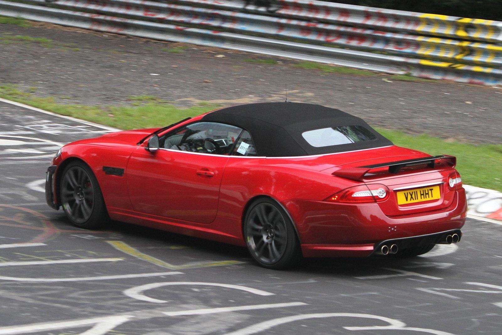 jaguar xkr s cabrio 2012 spyshots garage car. Black Bedroom Furniture Sets. Home Design Ideas