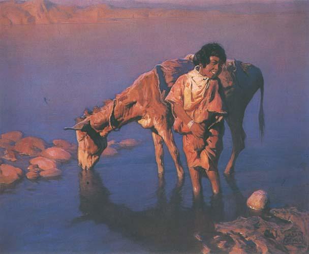 Adam Styka  Polish Orientalist painter   Tutt Art ()