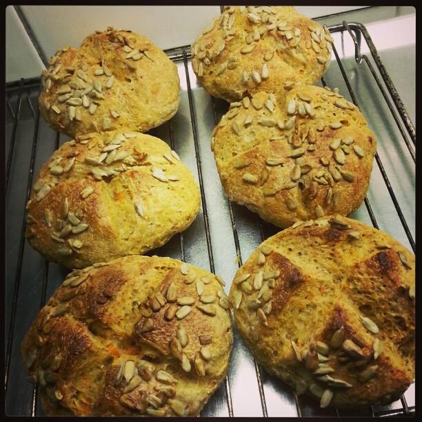 kvarg bröd recept