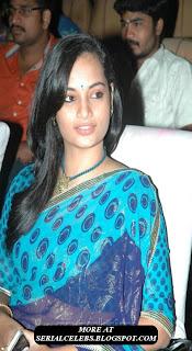 Actress suja in low hip saree