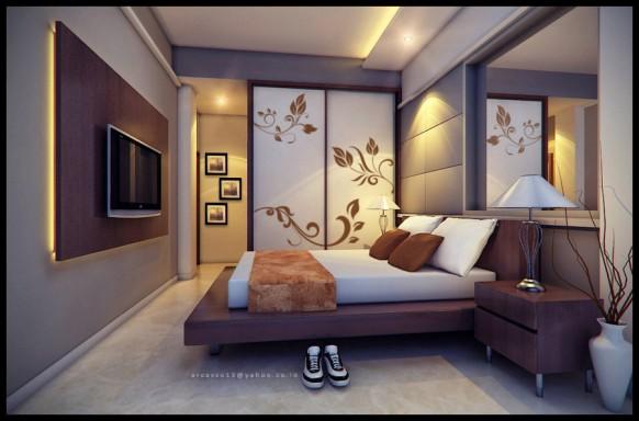 Galeri inspirasi Gambar Kamar Tidur Sempit Minimalis yg perfect