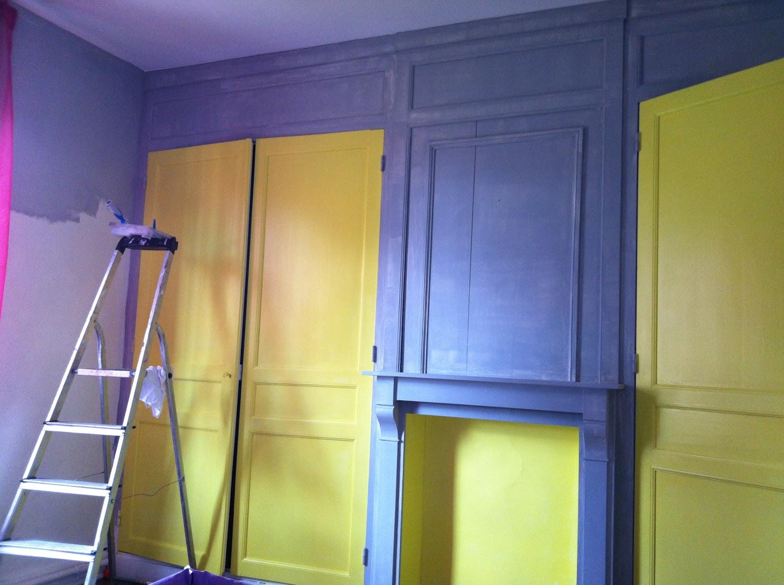 Fait avec amour... *cako*: une chambre de grand!!!! avec du jaune ...