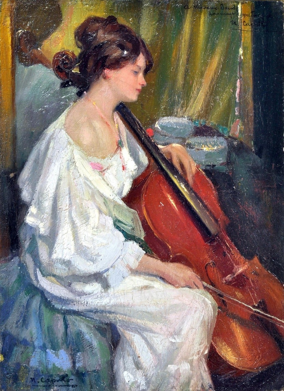 Ulisse Caputo La violoncellista