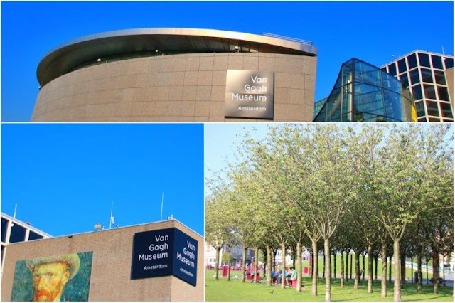 Museo Van Gogh en Museumplein en Amsterdam - Museumplein