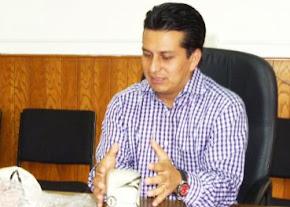 ROGELIO SOTO SUÁREZ, BUSCARÍA ALCALDÍA DE XICO ABANDERANDO AL PANAL