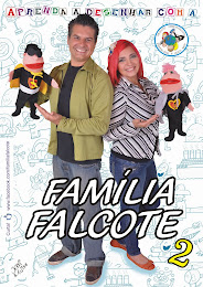 DVD Aprenda a Desenhar com a Família Falcote 2