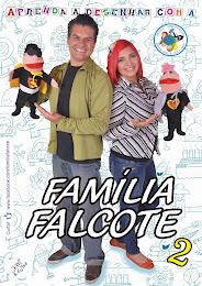 DVD Aprenda a Desenhar com a Família Falcote 2