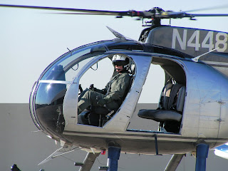 Alumna Angela S. Warner was the first female helicopter pilot in the DEA.