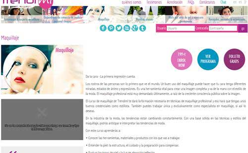 curso maquillaje on line