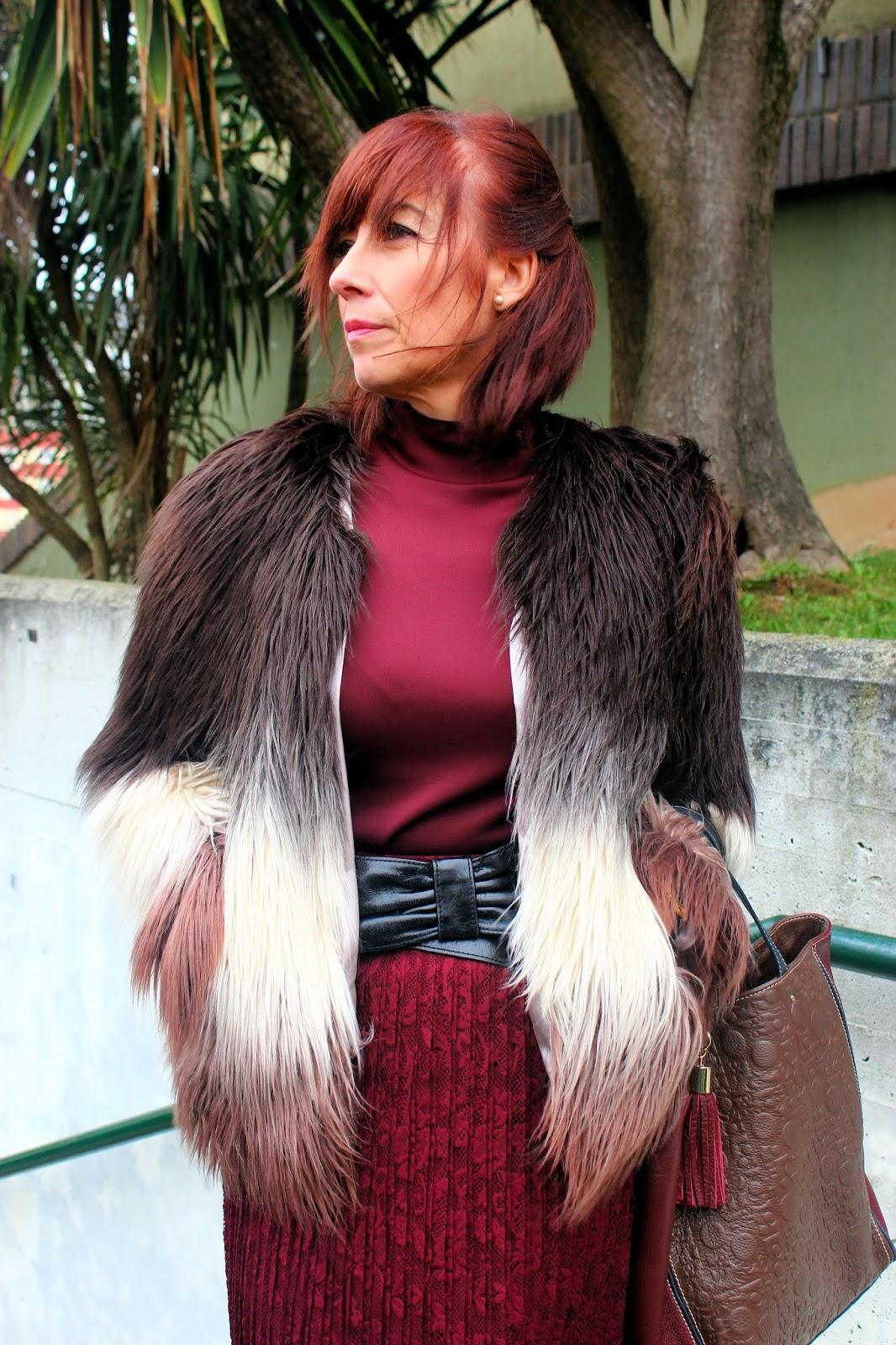 Br jula de estilo mis looks abrigo pelo y encaje - Brujula de estilo ...