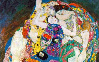 """Gustav Klimt """"Die Jungfrau"""""""