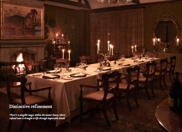 Theres A Tangible Magic Within The Manor House Where Refined Taste Is Brought To Life Through Impeccable Detail Dining Space Extremely