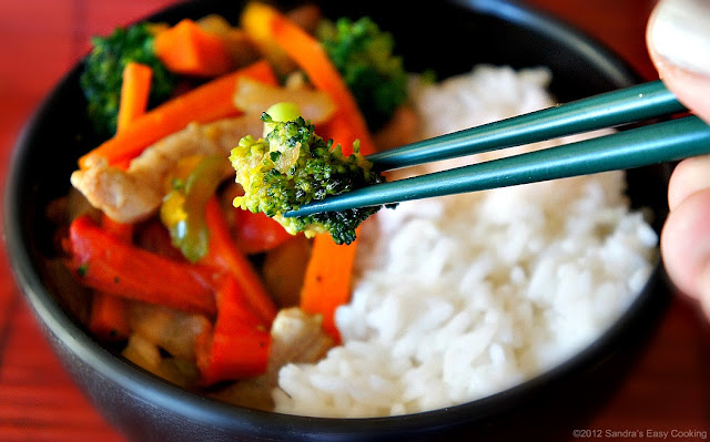 Simple and Easy recipe for Stir Fry with Rice