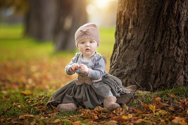 Photo bébé dans nature