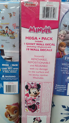 Roommates Mega Pack Peel And Stick Wall Decals – The classic Disney Minnie Mouse