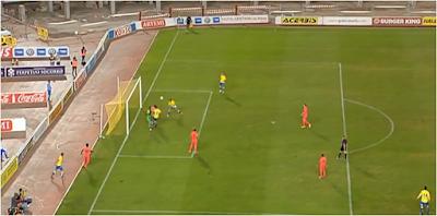 Asdrúbal marcó el cuarto gol de UD Las Palmas