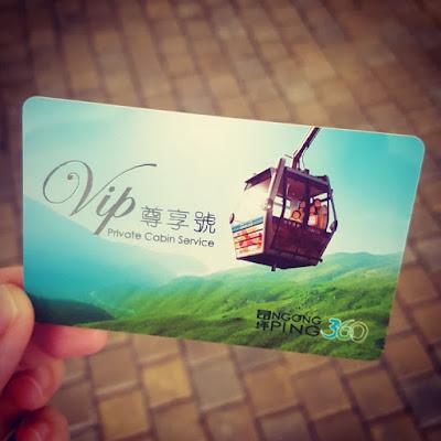 Taking Ngong Ping 360 to Lantau Island