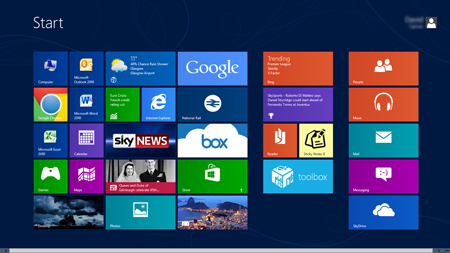 windows 8 newest sensation from microsoft