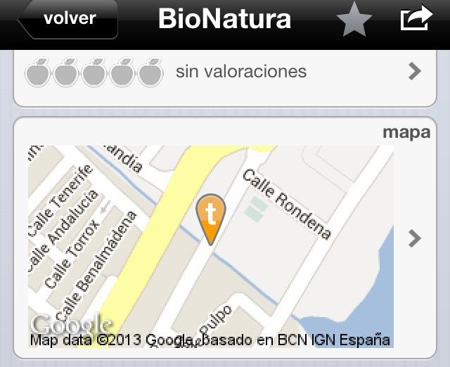 ecolugares la app ecologica