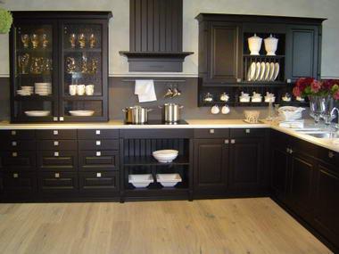Splendid kitchens decor for Repeindre sa cuisine en noir